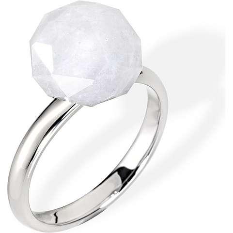 anello donna gioielli Morellato Black & White SCU09012
