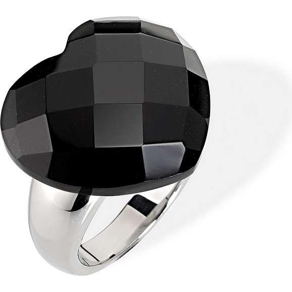 anello donna gioielli Morellato Black & White SCU10012