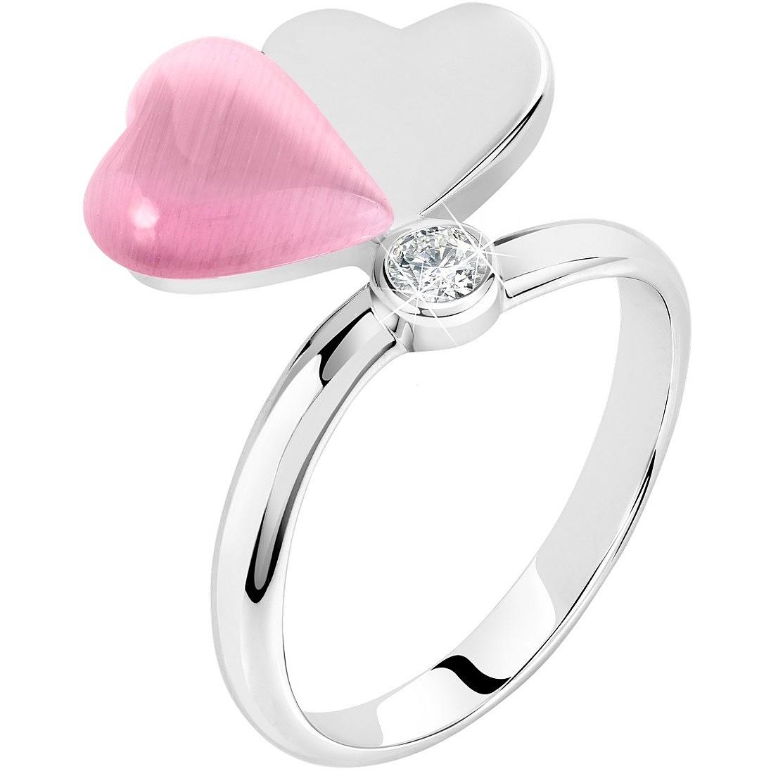 anello pandora doppio cuore