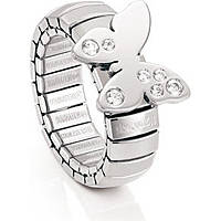 anello donna gioielli Nomination Butterfly 021303/001