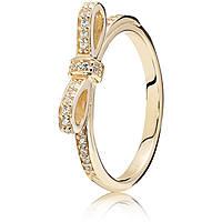 anello donna gioielli Pandora 150175CZ-54
