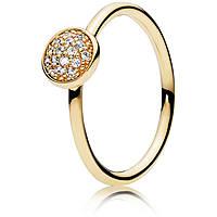 anello donna gioielli Pandora 150187CZ-56