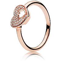 anello donna gioielli Pandora 186550CZ-52