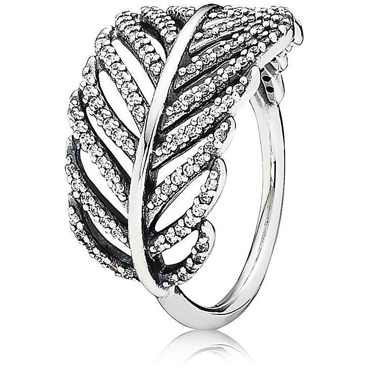 anello pandora con foglie prezzo