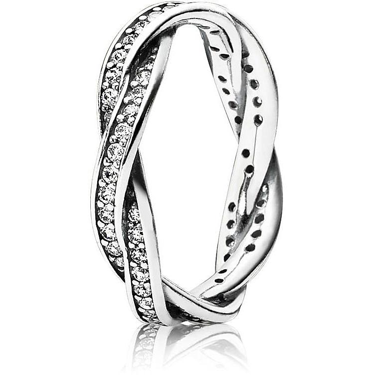 prezzo di fabbrica davvero economico risparmi fantastici anello donna gioielli Pandora 190892CZ-56 anelli Pandora