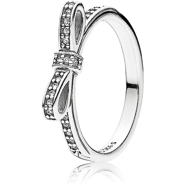 anello pandora con fiocco costo
