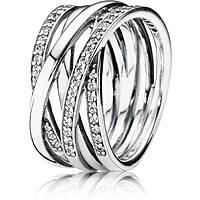 anello donna gioielli Pandora 190919CZ-54
