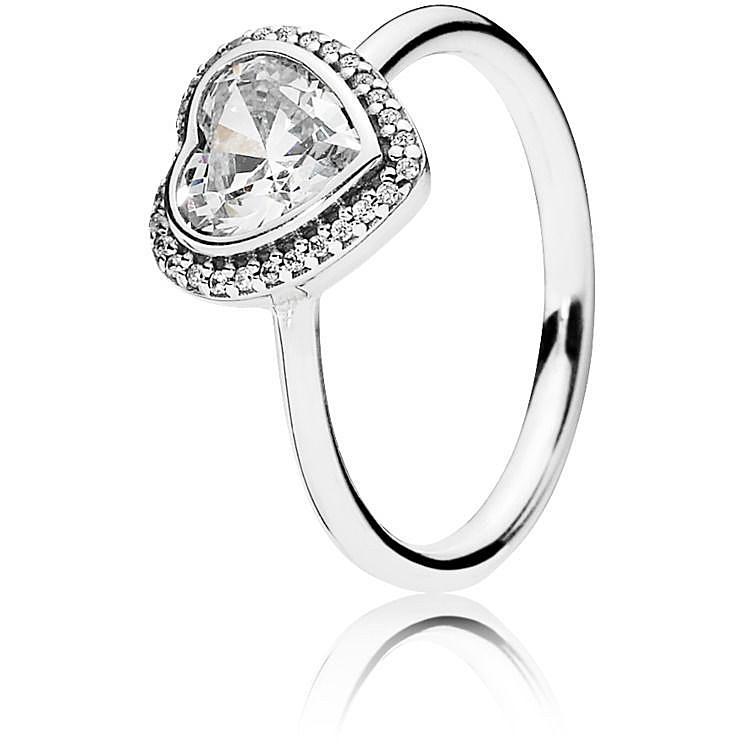 pandora anello amore brillante