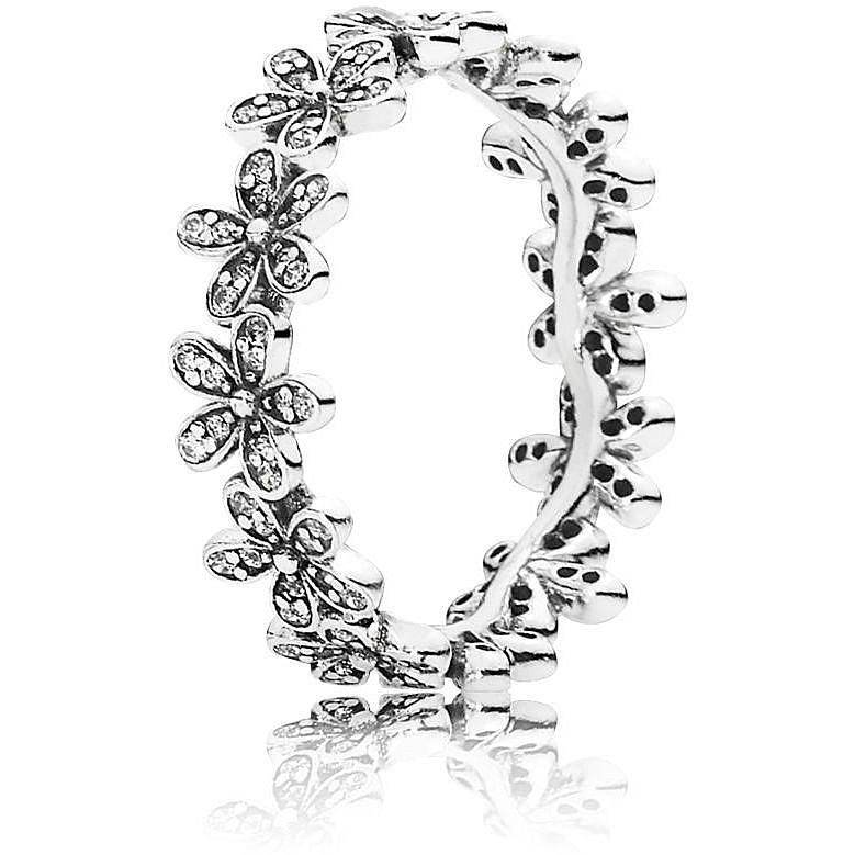 anello pandora a fiori
