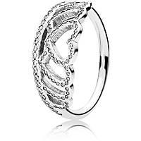 anello donna gioielli Pandora 190958CZ-56