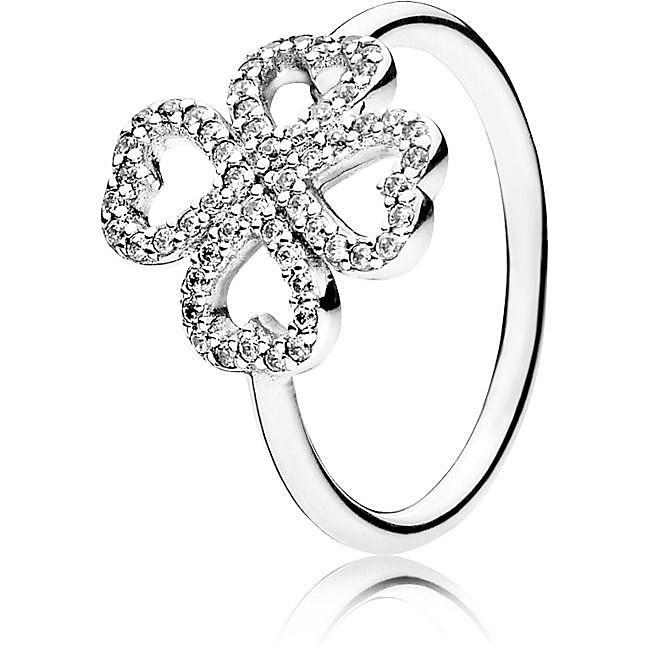 quadrifoglio pandora anello