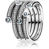 anello donna gioielli Pandora 191002CZF-56