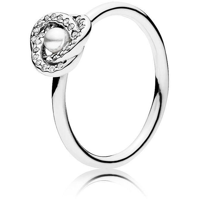 anello pandora nodo d'amore luminoso