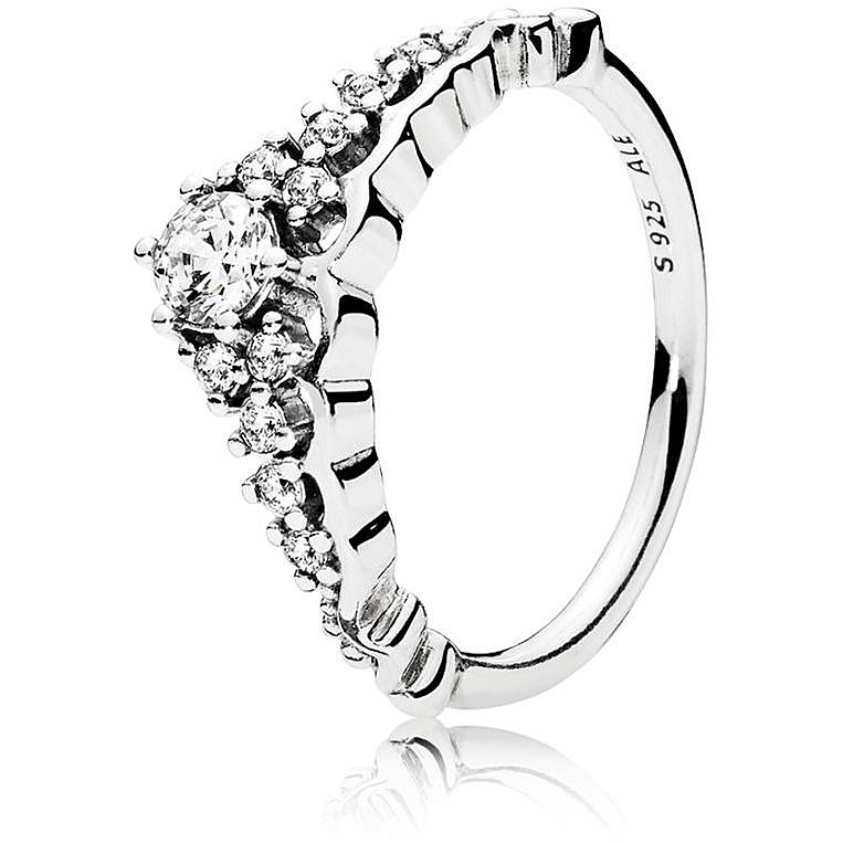 anello pandora tiara oro rosa