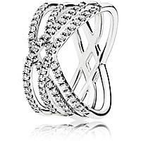 anello donna gioielli Pandora 196401CZ-60