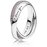 anello donna gioielli Pandora 196546PCZ-56