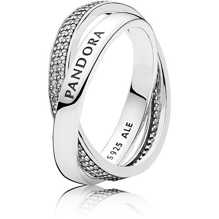 rivenditore di vendita 6742d a1839 anello donna gioielli Pandora 196547CZ-58