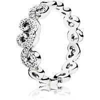 anello donna gioielli Pandora 197117CZ-54