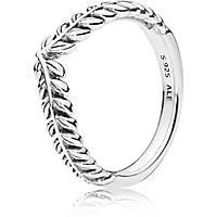 anello pandora foglia alloro