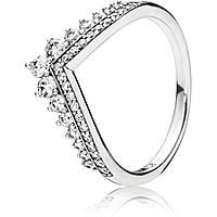 Nuovi Prodotti fa3e1 924f2 anello donna gioielli Pandora 197736CZ-54