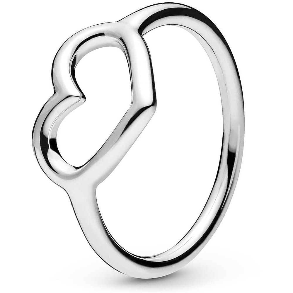 anello pandora cuore aperto