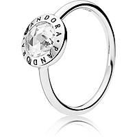 anello donna gioielli Pandora Forever 191029CZ-52