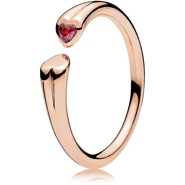 San Francisco f3d89 4f8bd anello donna gioielli Pandora I Love You 186570CZR-50