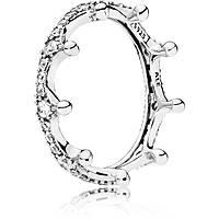 anello donna gioielli Pandora Natura Incantata 197087CZ-54
