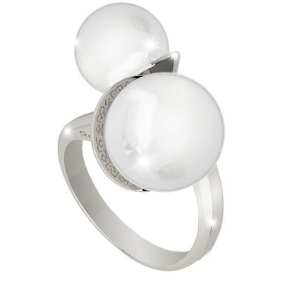 anello donna gioielli Rebecca Hollywood Pearl BHOABB01