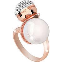 anello donna gioielli Rebecca Hollywood Pearl BHOARR03