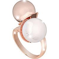 anello donna gioielli Rebecca Hollywood Pearl BHOARR04