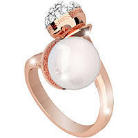 anello donna gioielli Rebecca Hollywood Pearl BHOARR16