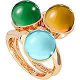 anello donna gioielli Rebecca Hollywood Stone BHSAOO15