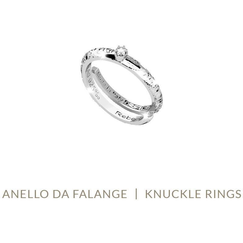 enorme sconto 63b57 62213 anello donna gioielli Rebecca Myfriends SPGAAB61