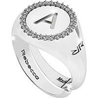 anello donna gioielli Rebecca Myworldsilver SWRAZA51L