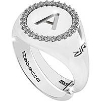 anello donna gioielli Rebecca Myworldsilver SWRAZA51M