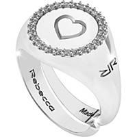 anello donna gioielli Rebecca Myworldsilver SWRAZA77S