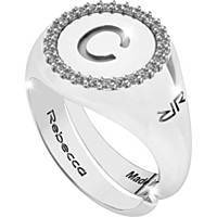anello donna gioielli Rebecca Myworldsilver SWRAZC53L