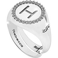 anello donna gioielli Rebecca Myworldsilver SWRAZH58L