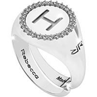 anello donna gioielli Rebecca Myworldsilver SWRAZH58M