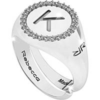 anello donna gioielli Rebecca Myworldsilver SWRAZK61L