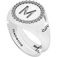 anello donna gioielli Rebecca Myworldsilver SWRAZM63M