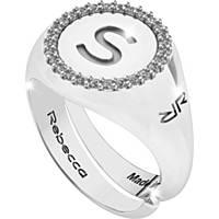 anello donna gioielli Rebecca Myworldsilver SWRAZS69S