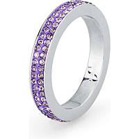 anello donna gioielli Sagapò Crystal ring SCR32C
