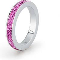 anello donna gioielli Sagapò Crystal ring SCR35C
