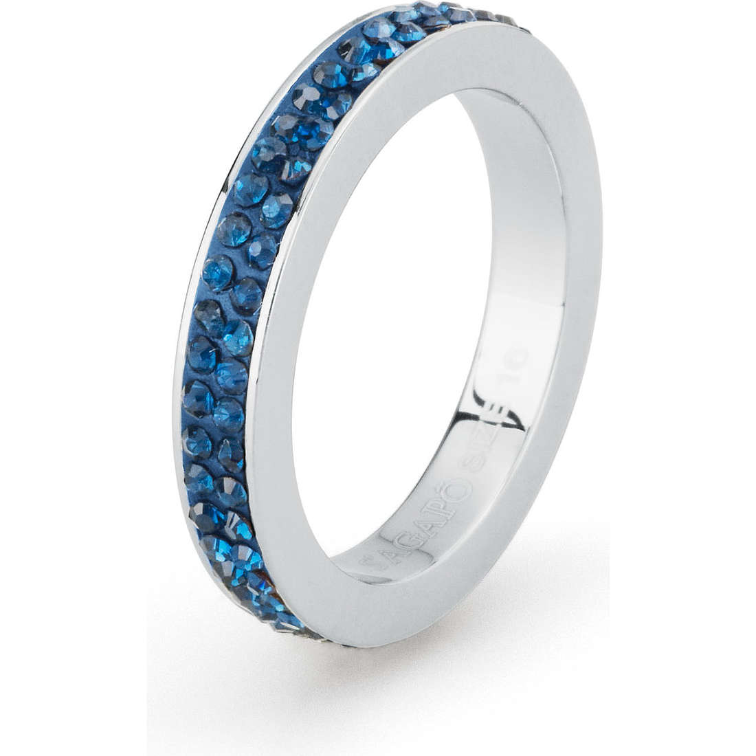 anello donna gioielli Sagapò Crystal ring SCR36B
