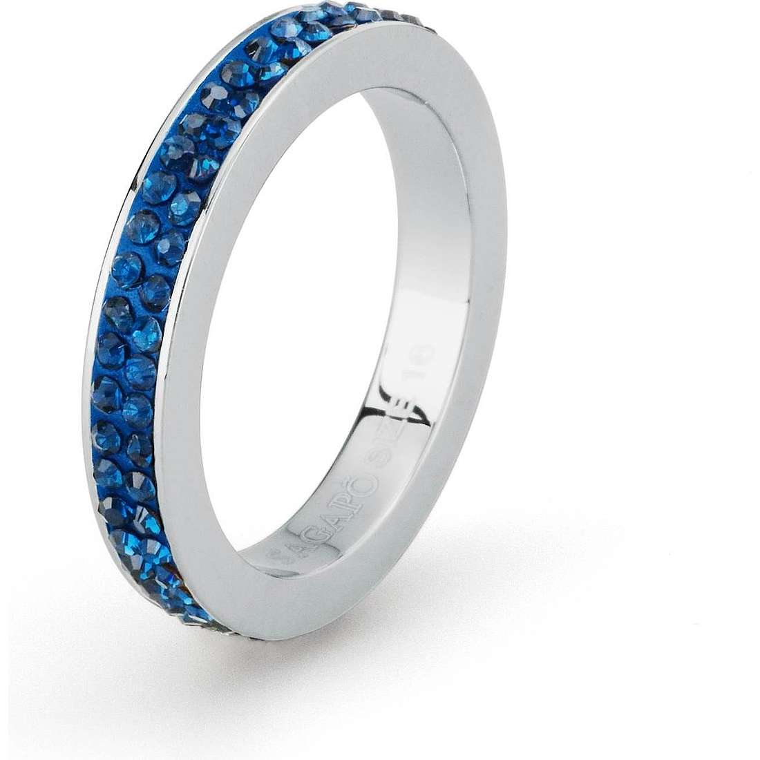 anello donna gioielli Sagapò Crystal ring SCR41B