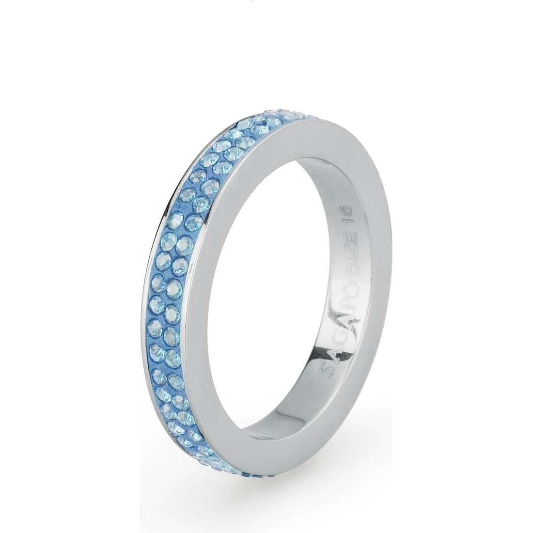 anello donna gioielli Sagapò Crystal ring SCR42B