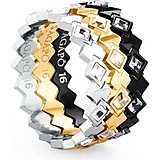 anello donna gioielli Sagapò Victoria SVC04C