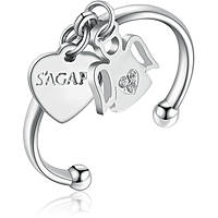 anello donna gioielli Sagapò You SYO31B